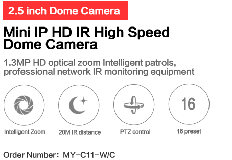 C series 25 inch mini camera network dome camera mytech electronics publicscrutiny Images